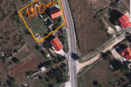 Smoković kod Zadra - Kuća 84m2 na terenu od 1.900m2