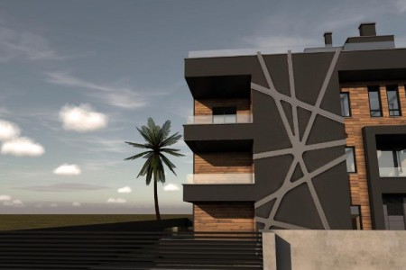 Zadar - Borik - Novogradnja!! Ekskluzivan TOP objekt s 5 stanova - 1.kat 79,18m2