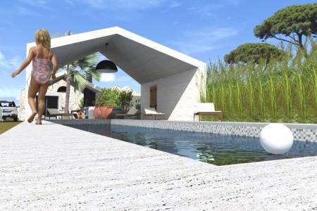 Prilika!! Zaton - Postojeća kamena kuća s projektom na zemljištu od 626m2