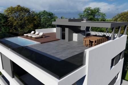 TOP NEKRETNINA!! PENTHOUSE 294,90m2 - Krovni bazen, terasa, tuš, jacuzzi, roštilj.....